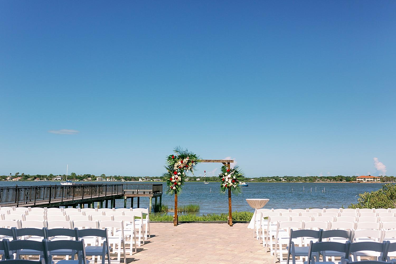 Wedding Ceremony on the St. John's River